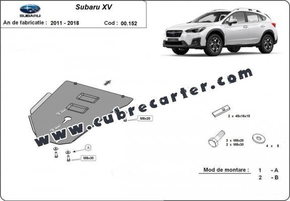 Protección del caja de cambios Subaru XV
