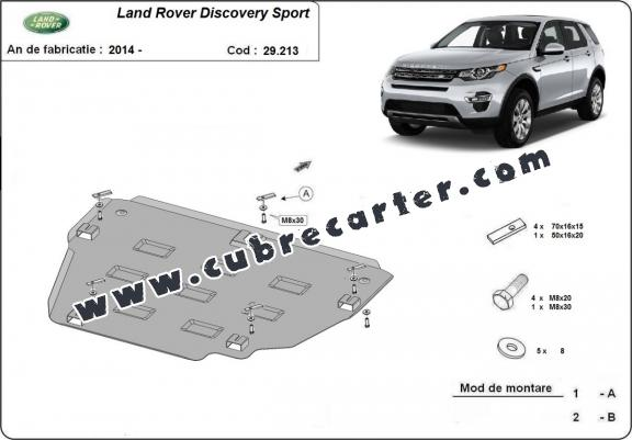 Cubre carter metalico Land Rover Discovery Sport