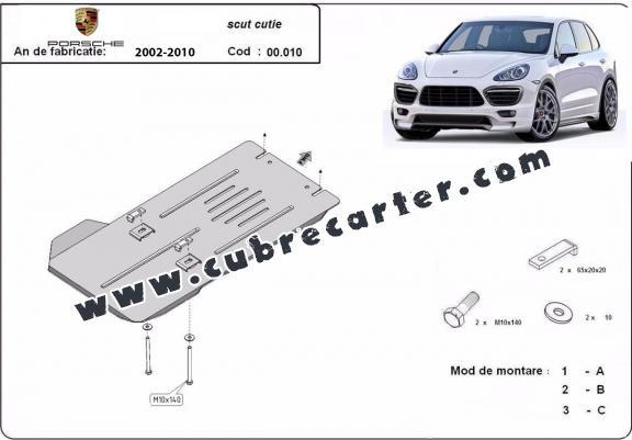 Protección del caja de cambios automática Porsche Cayenne