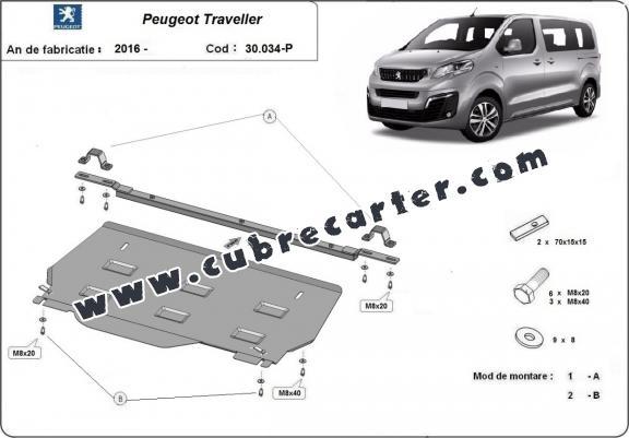 Cubre carter metalico Peugeot Traveller MPV