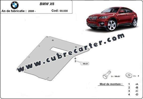 Protección del caja de cambios BMW X6