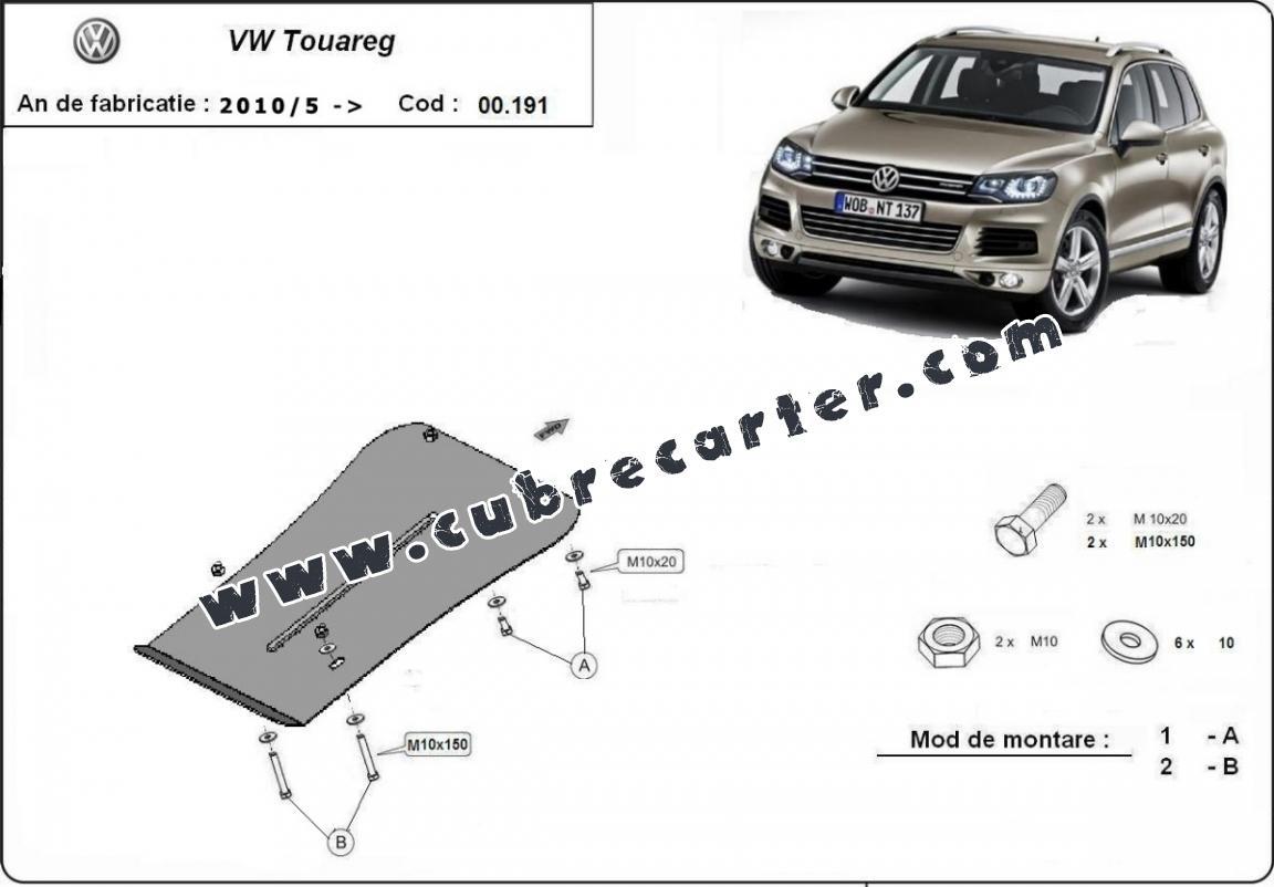 Protección del caja de cambios VW Touareg
