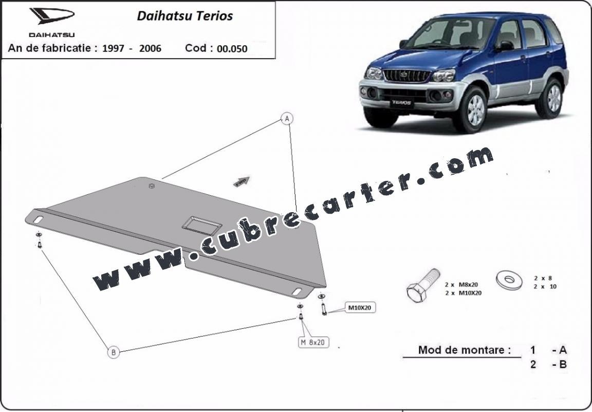 Protección del caja de cambios Daihatsu Terios