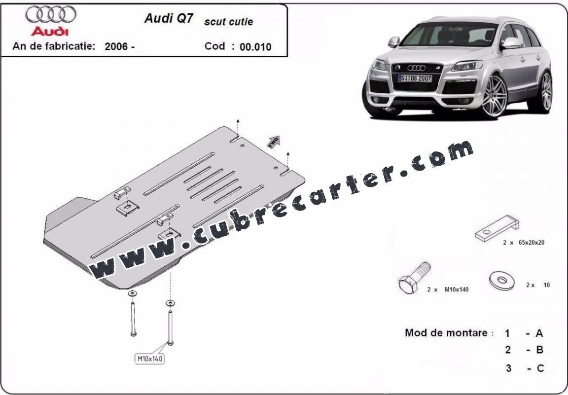 Protección del caja de cambios Audi Q7