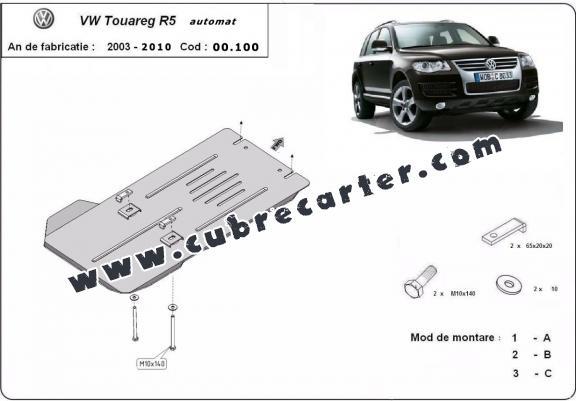 Protección del caja de cambios automat Volkswagen Touareg R5