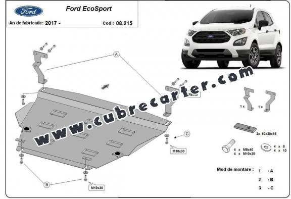 Cubre carter metalico Ford EcoSport