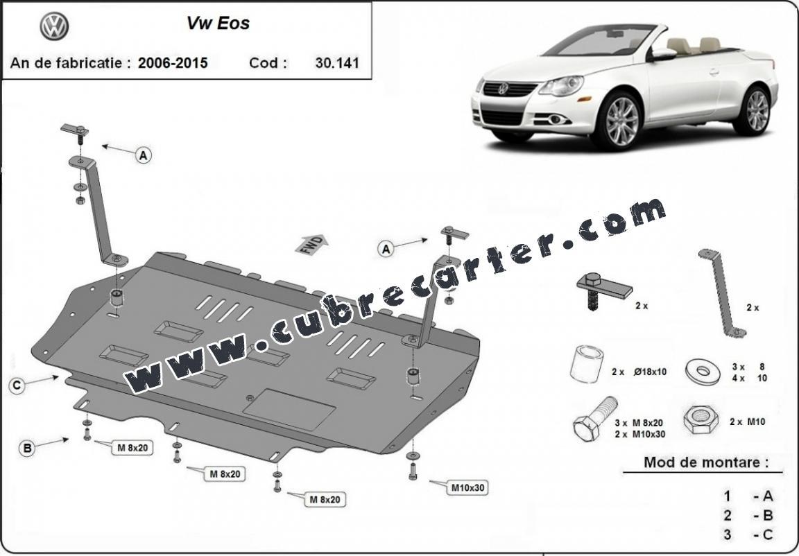 Cubre carter metalico VW EOS