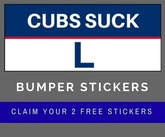 Free Cubs Suck Bumper Sticker
