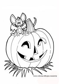 Descubriendo Pequemundos: Calabazas de Halloween para colorear