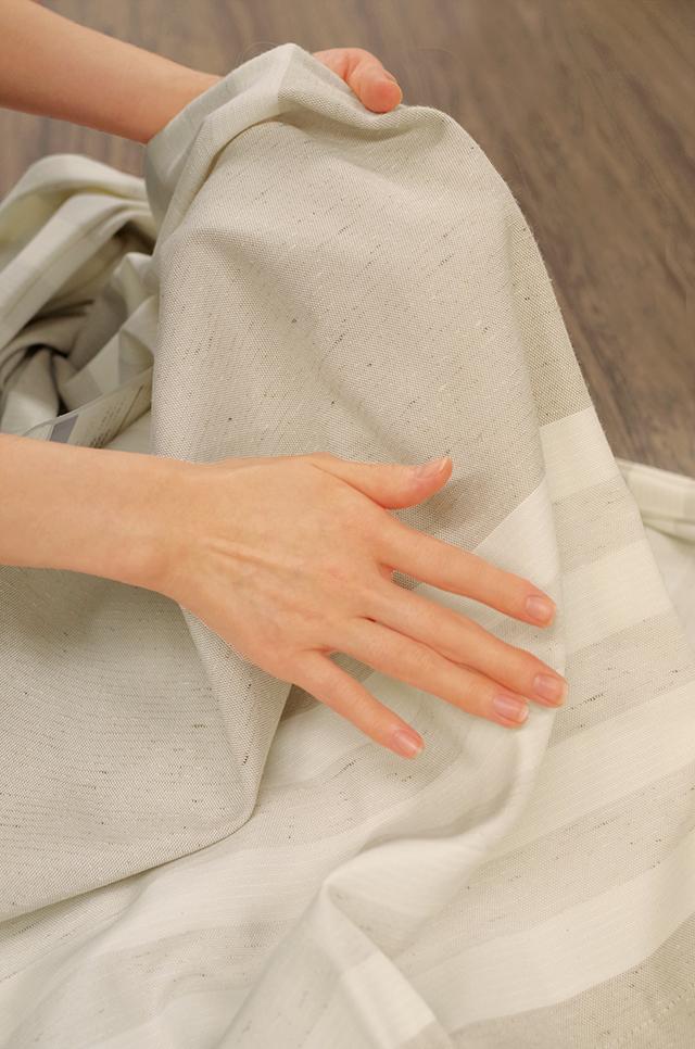 カーテンのお洗濯方法 カーテンのほこり カーテンの洗濯手順