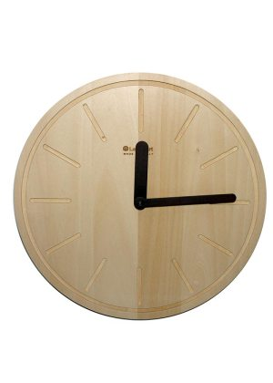 Legnoart Wall Clock Temps