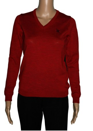 Romeo Sarti V Neck Red