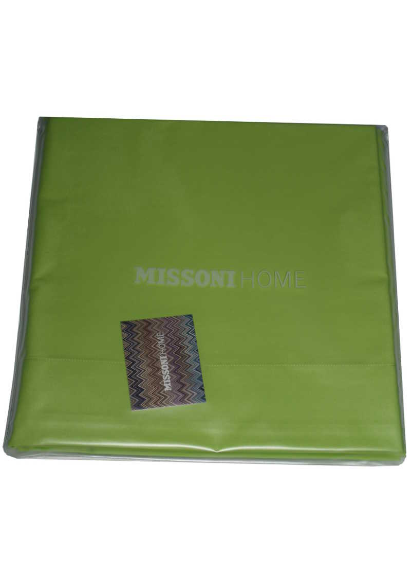 Missoni Home Flat Sheet Bright Green