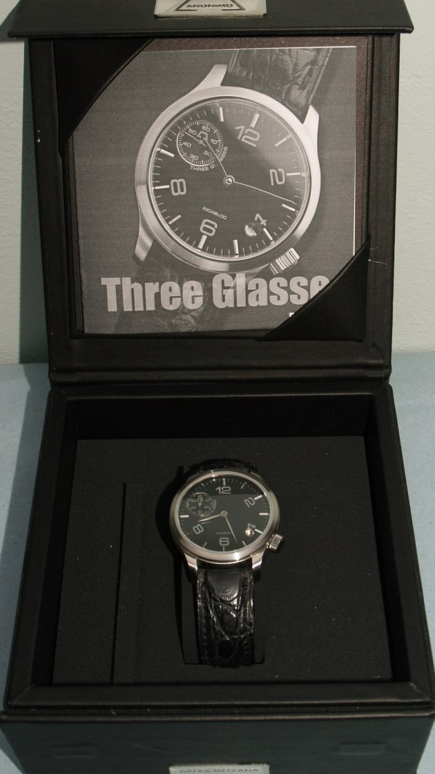 Anonimo Watch Three Glasses