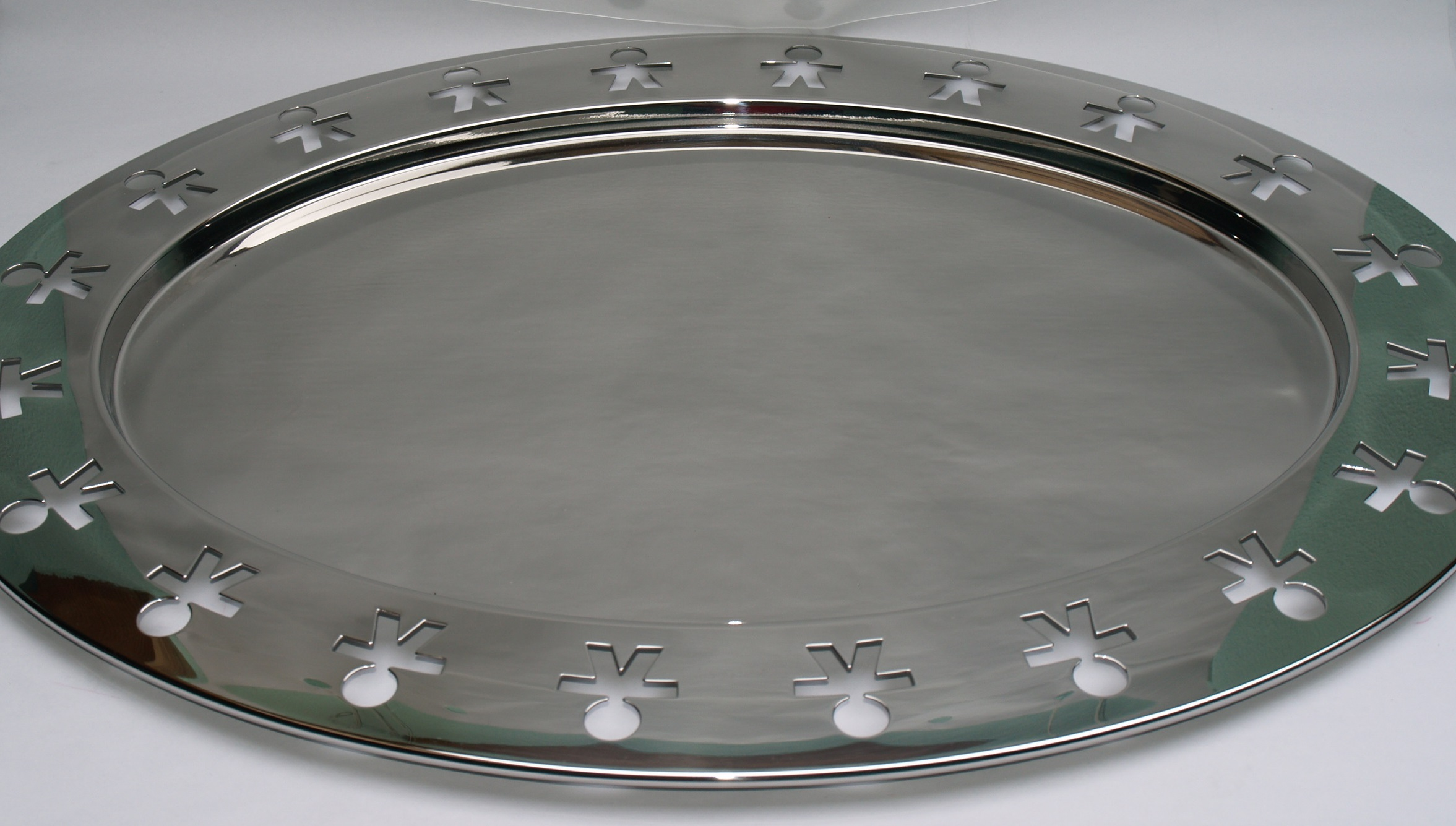 Alessi oval tray girotondo collection cuccalofferta for Alessi outlet