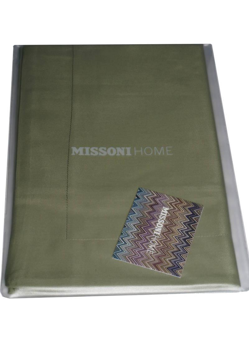 Missoni Home Dark Green Pillow Case