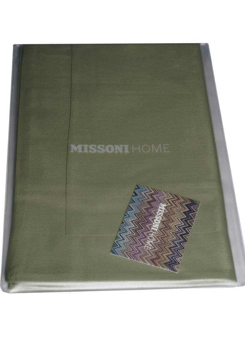 Missoni Home Dark Green Pillow Case