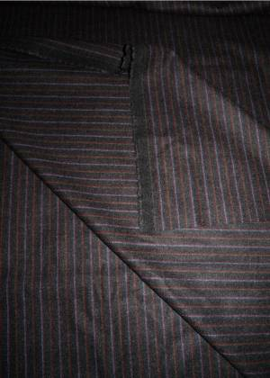 Colombo Fabric Mens Jacket Wool