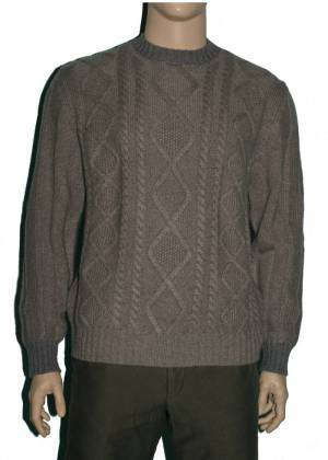 Loro Piana Cashmere Cable Knit Sweater