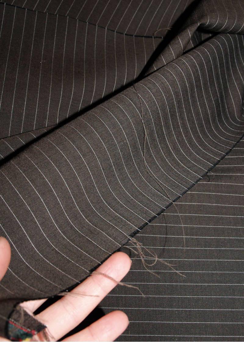 Loro Piana Fabric Suit Dark Grey