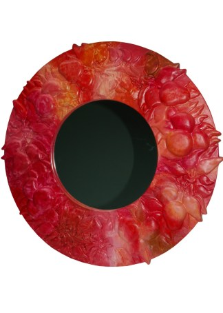 Driade Mirror Tikal Red