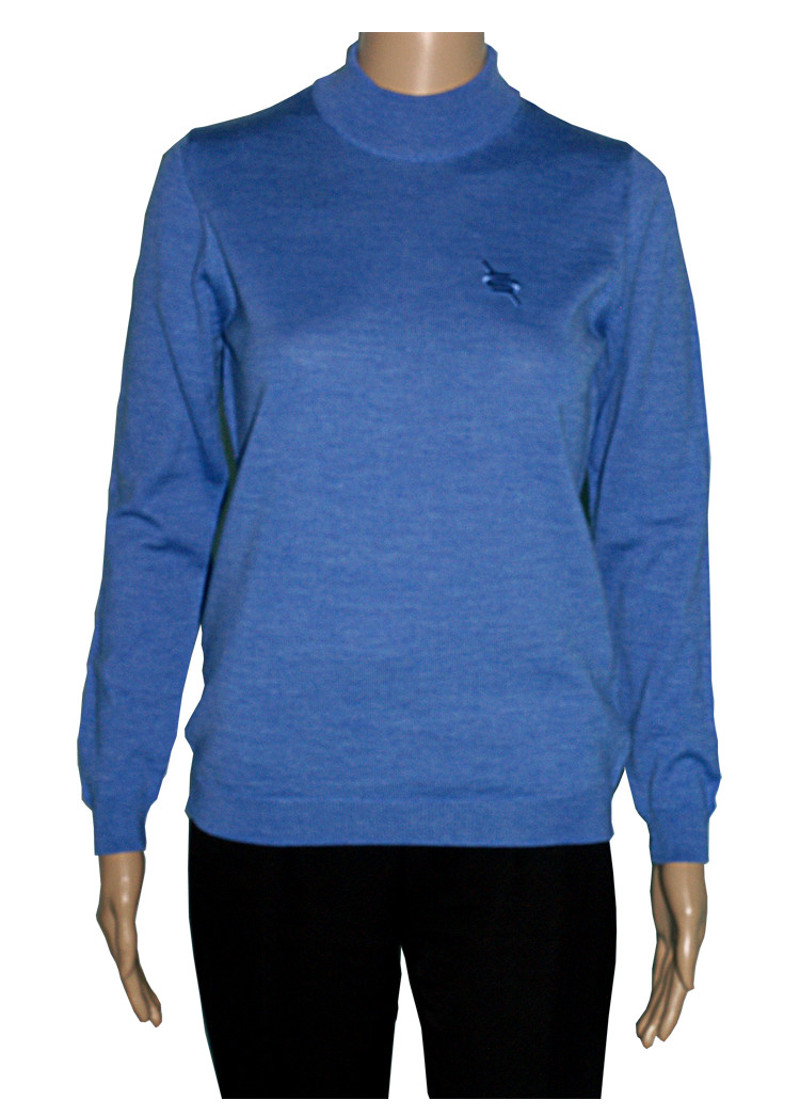 Romeo Sarti High Neck Blue