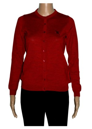 Romeo Sarti Cardigan Red Lady Coreana