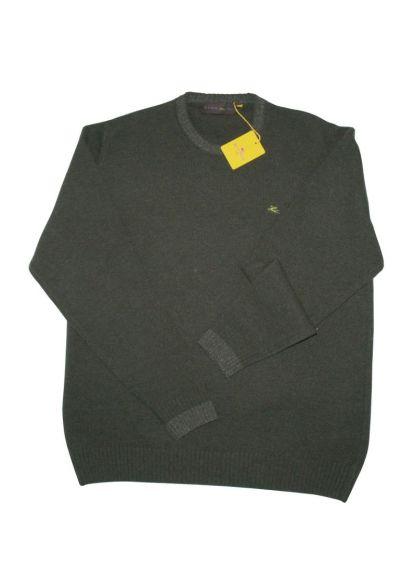 Etro Crew Neck Sweater Green