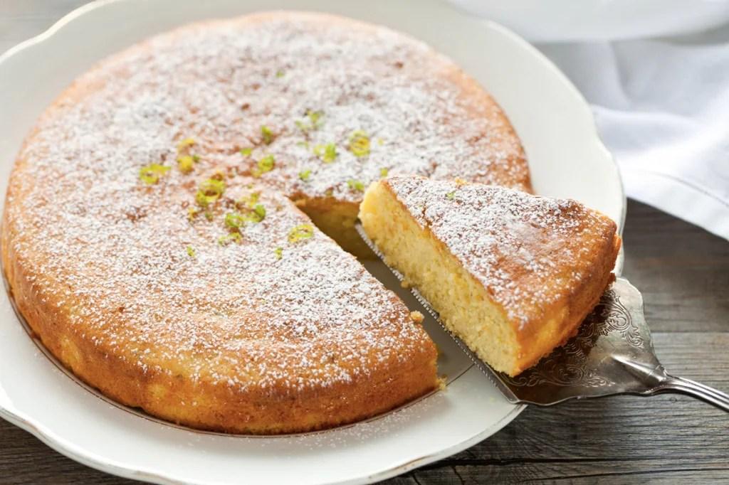 Ricetta Torta al limone e mandorle  Cucchiaio dArgento