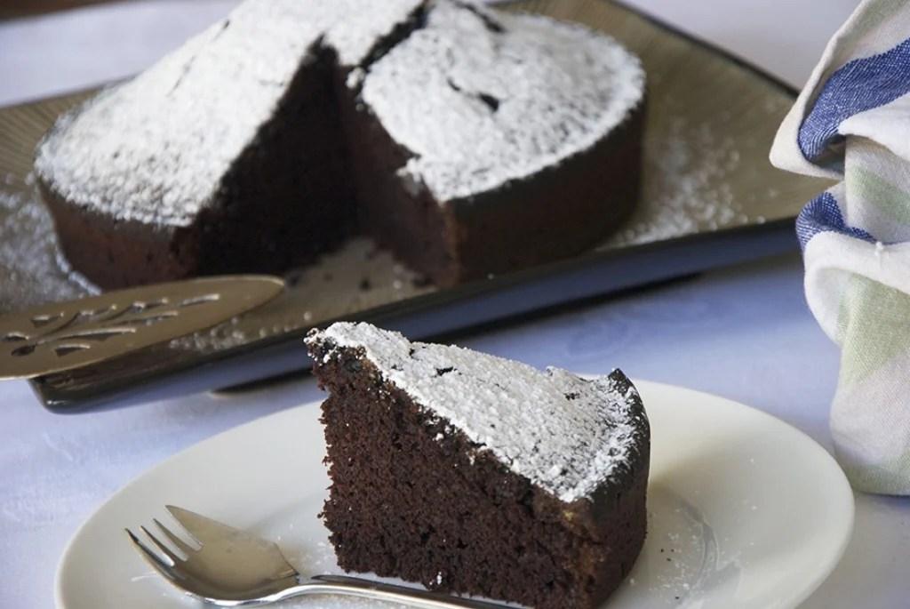 Ricetta Torta al cacao senza uova e senza latte