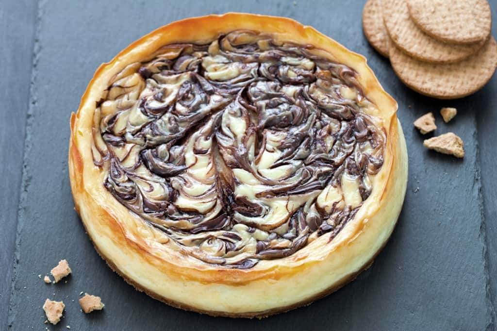 Ricetta Cheesecake alla Nutella  Cucchiaio dArgento