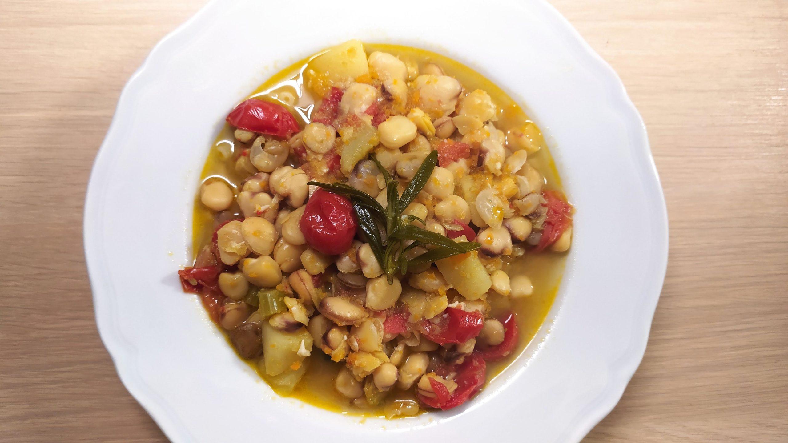 one pot soup cicerchie