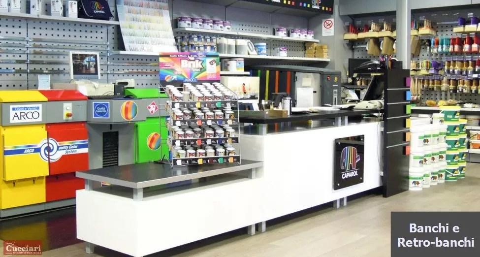 Arredamento per negozi ferramenta Sardegna