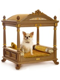 Dream - Handmade luxury four-poster pet bed for dogs
