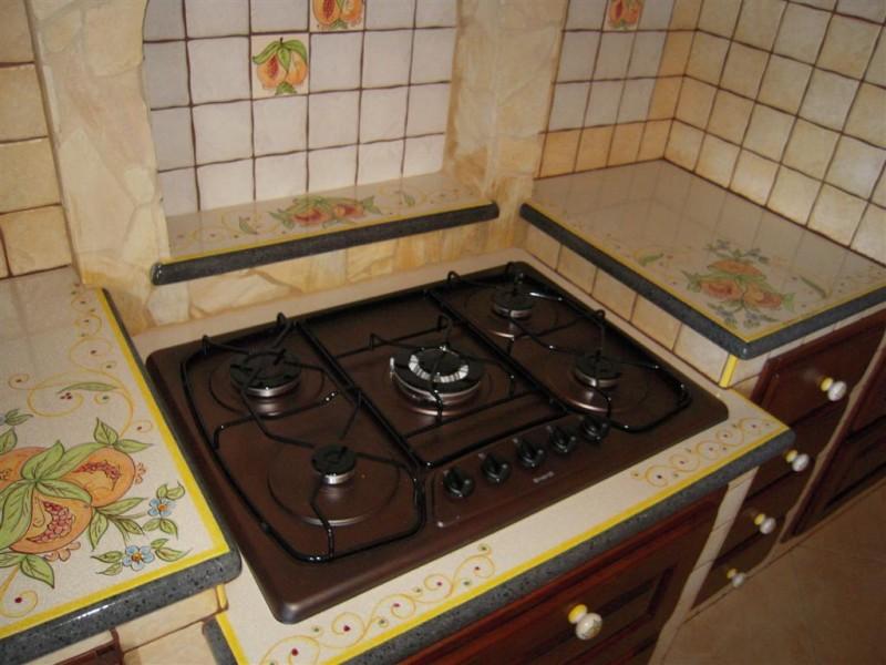 Piani Per Cucine In Muratura Top Piastrelle Per Cucina In Muratura With Piani Per Cucine In