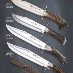 Professional Kitchen Knives Cabinet Ideas Bowie - Joker Hunting Monteria 124 Cutlery
