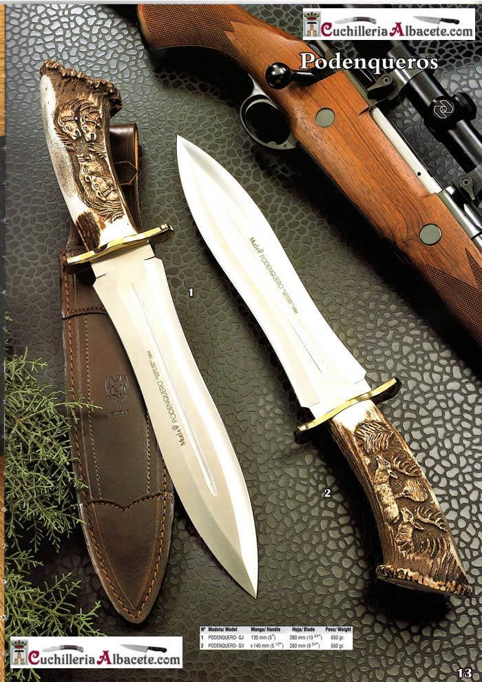 HUNTING KNIVES MUELA PODENQUEROS Muela  hunting knives