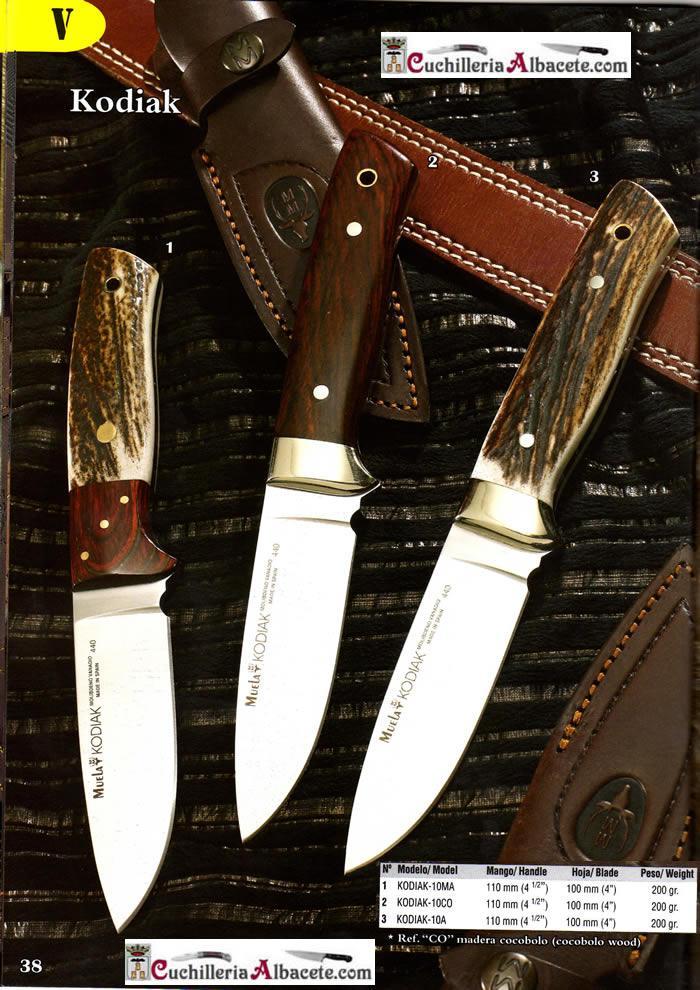 HUNTING KNIVES MUELA KODIAK Muela  hunting knives hunting