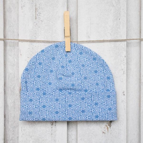 cuffiette bebè stelle blu