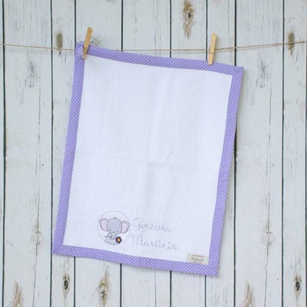 set asilo asciugamano
