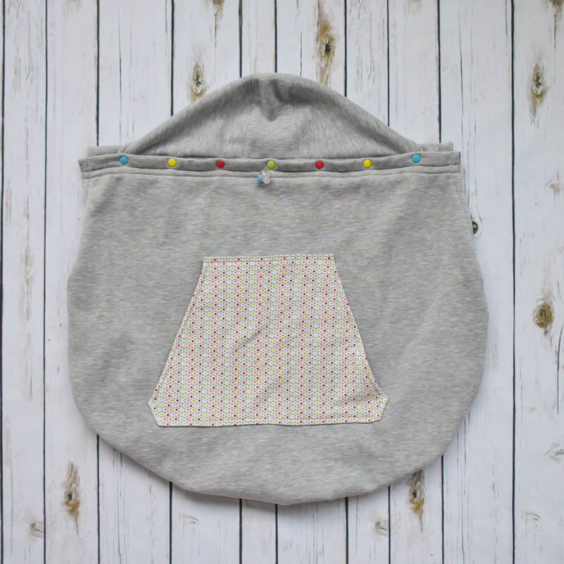Cover babywearing per tenere al caldo i bimbi portati in fascia o marsupio