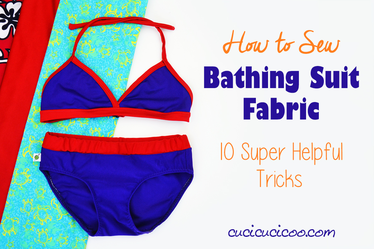 how to sew bathing