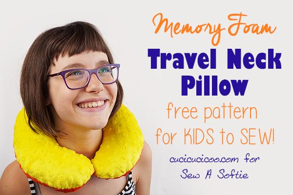 diy neck pillow template pdf download