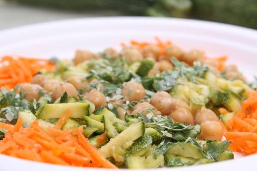 Ceci zucchine e dragoncello  Cucina Naturale