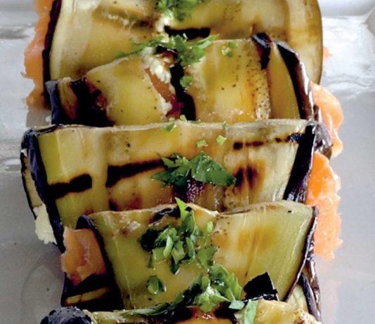Involtini di melanzane e salmone affumicato  Cucina Naturale