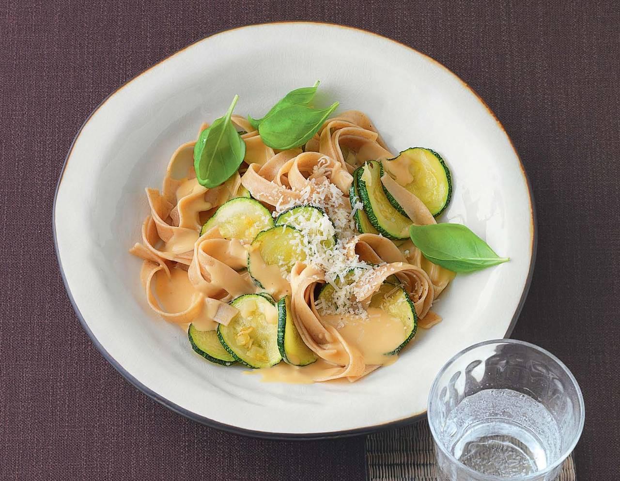 Tagliatelle con le zucchine  Cucina Naturale