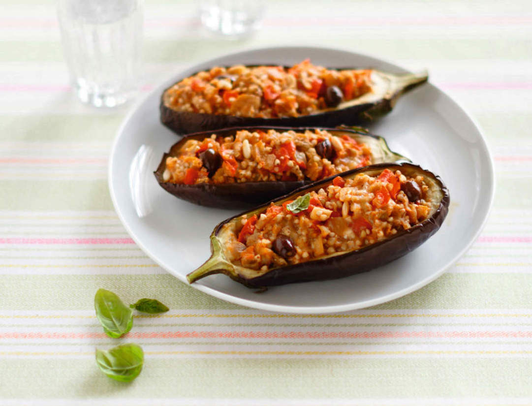 melanzane ripiene grano saraceno cucina naturale