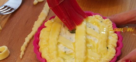 Crostatine Salate di Zucchine e Ricotta  Antipasto Vegetariano Senza Glutine  Ricette di Cucina