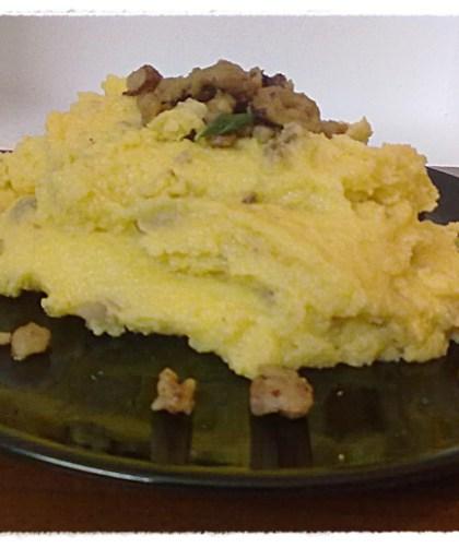 Polenta con taleggio e castagne ricetta primi piatti