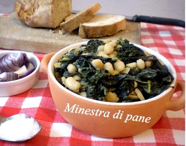 Minestra di pane ricetta Toscana primi piatti